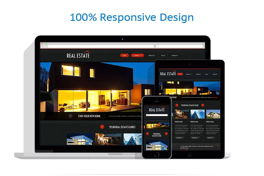 Modèles HTML5 Immobilier #52976