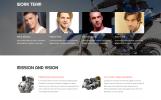 """Website Vorlage namens """"Bikes Repair - Motorcycles Repair & Service Responsive Clean HTML"""""""