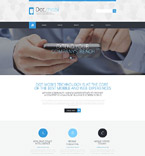 Communications Website  Template 52983
