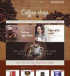 Cafe & Restaurant PrestaShop Template 52984