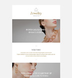 Jewelry Newsletter  Template 52988