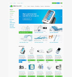 Medical osCommerce  Template 52992