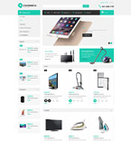 Electronics OpenCart  Template 52995