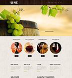 Food & Drink WordPress Template 52998