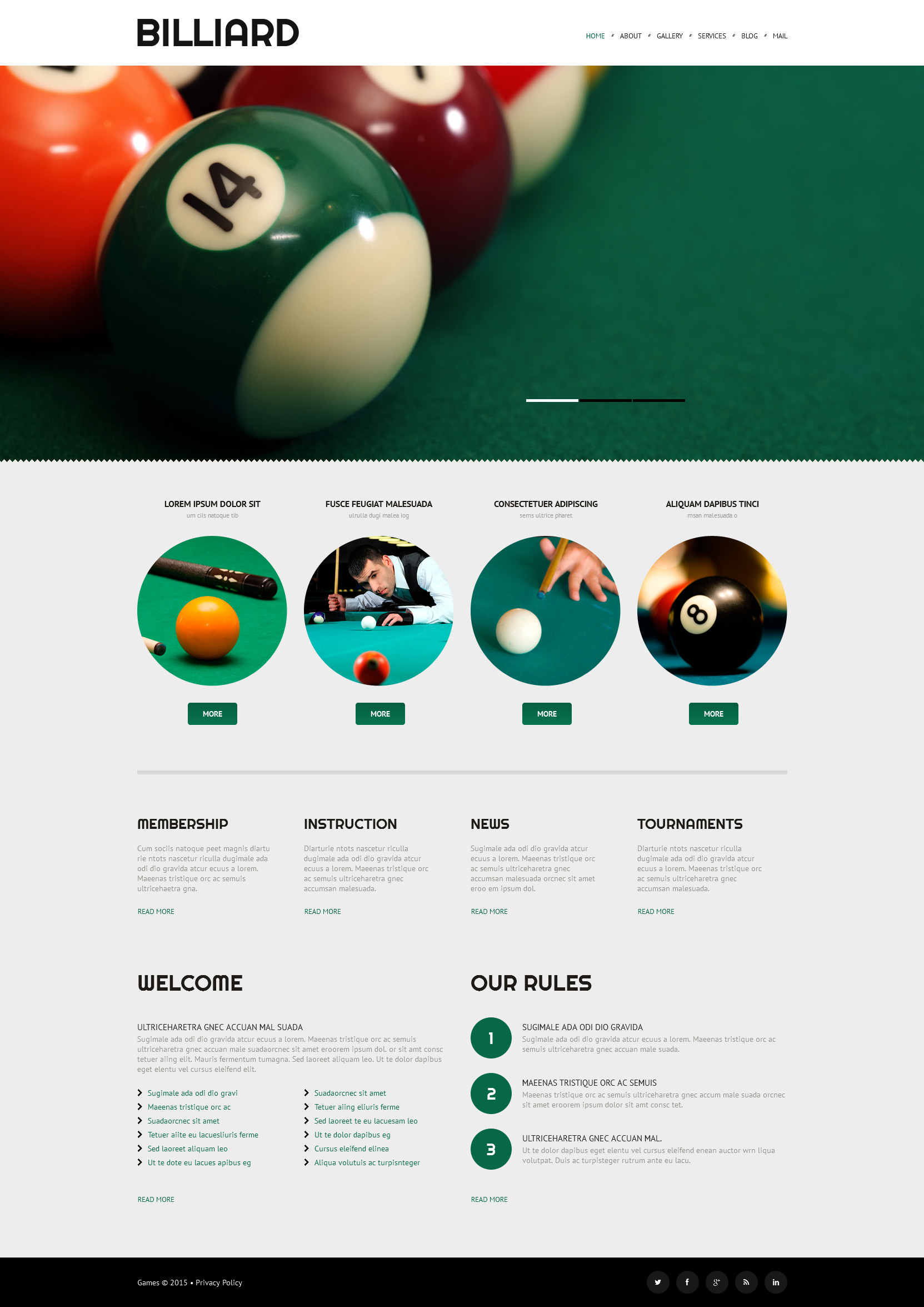 The Billiard Club WordPress Design 52999, one of the best WordPress themes of its kind (sport, most popular), also known as billiard club WordPress template, sport WordPress template, entertainment WordPress template, site WordPress template, cup-final WordPress template, champions WordPress template, membership WordPress template, leadership WordPress template, team WordPress template, ball WordPress template, cue WordPress template, pocket WordPress template, positions WordPress template, cloth WordPress template, lamps WordPress template, table WordPress template, pool WordPress template, tables WordPress template, accessories WordPress template, furniture WordPress template, books WordPress template, videos WordPress template, coaching WordPress template, teacher WordPress template, principles and related with billiard club, sport, entertainment, site, cup-final, champions, membership, leadership, team, ball, cue, pocket, positions, cloth, lamps, table, pool, tables, accessories, furniture, books, videos, coaching, teacher, principles, etc.