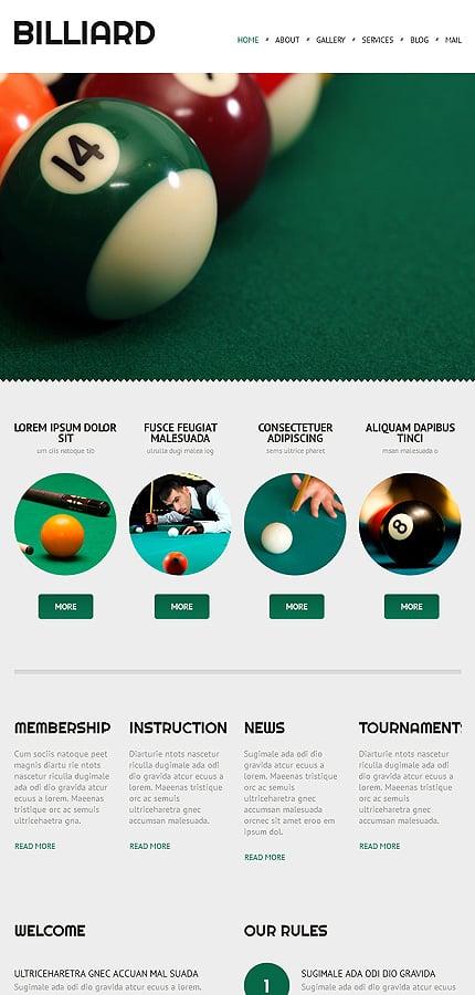 WordPress Theme/Template 52999 Main Page Screenshot