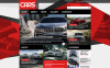 """Automobile"" thème Joomla adaptatif New Screenshots BIG"