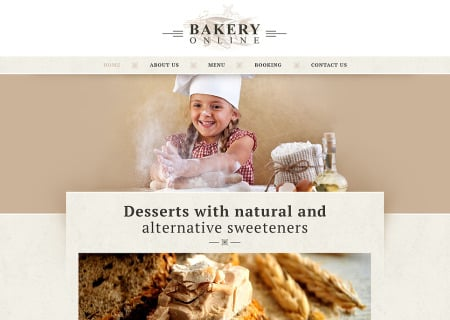 Bakery Responsive