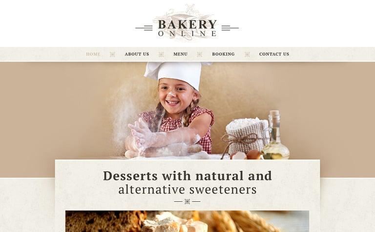 16 Bakery Website Themes & Templates