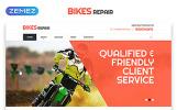 """""""Bikes Repair - Motorcycles Repair & Service Responsive Clean HTML"""" modèle web adaptatif"""