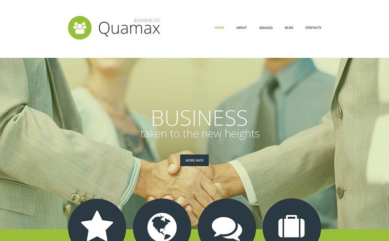 Business Co WordPress Theme