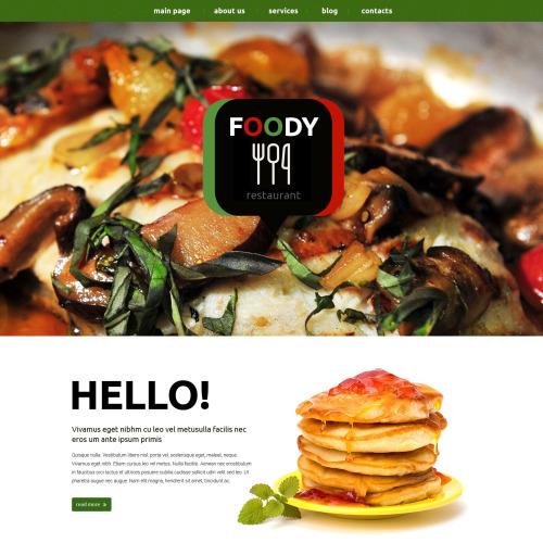 Foody - Responsive Drupal Template