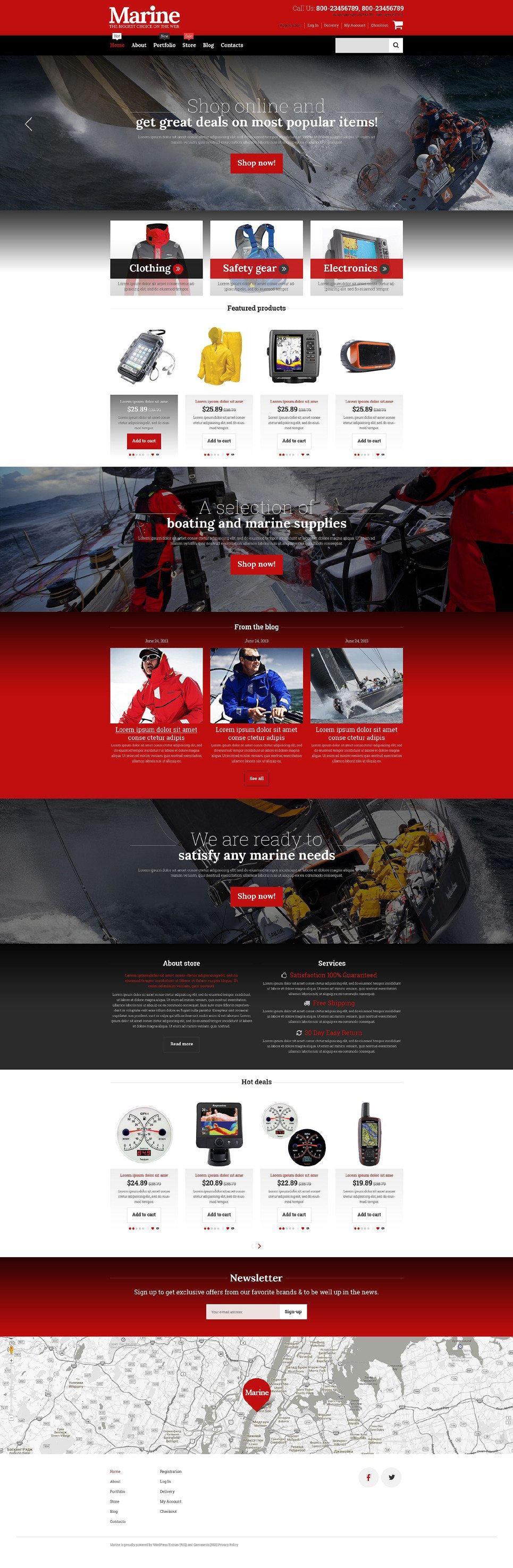 Get Stylish Online Store WooCommerce Theme New Screenshots BIG