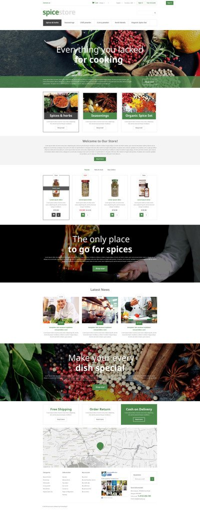 Grocery Shop PrestaShop Theme #52962