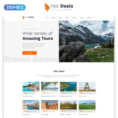 Travel Agency Website >> 41 Best Travel Agency Website Templates