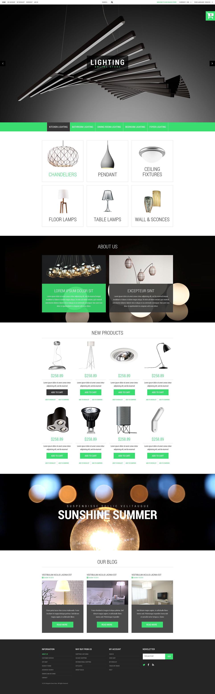 house lighting magento theme 52921
