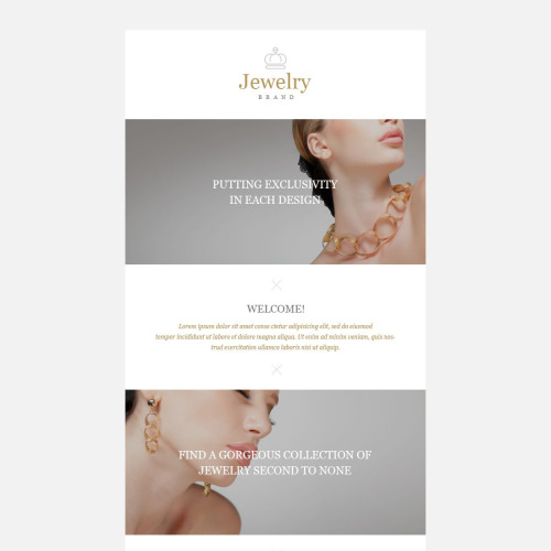 Jewelry Brand - Responsive Newsletter Template