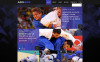 Judo Club Website Template New Screenshots BIG