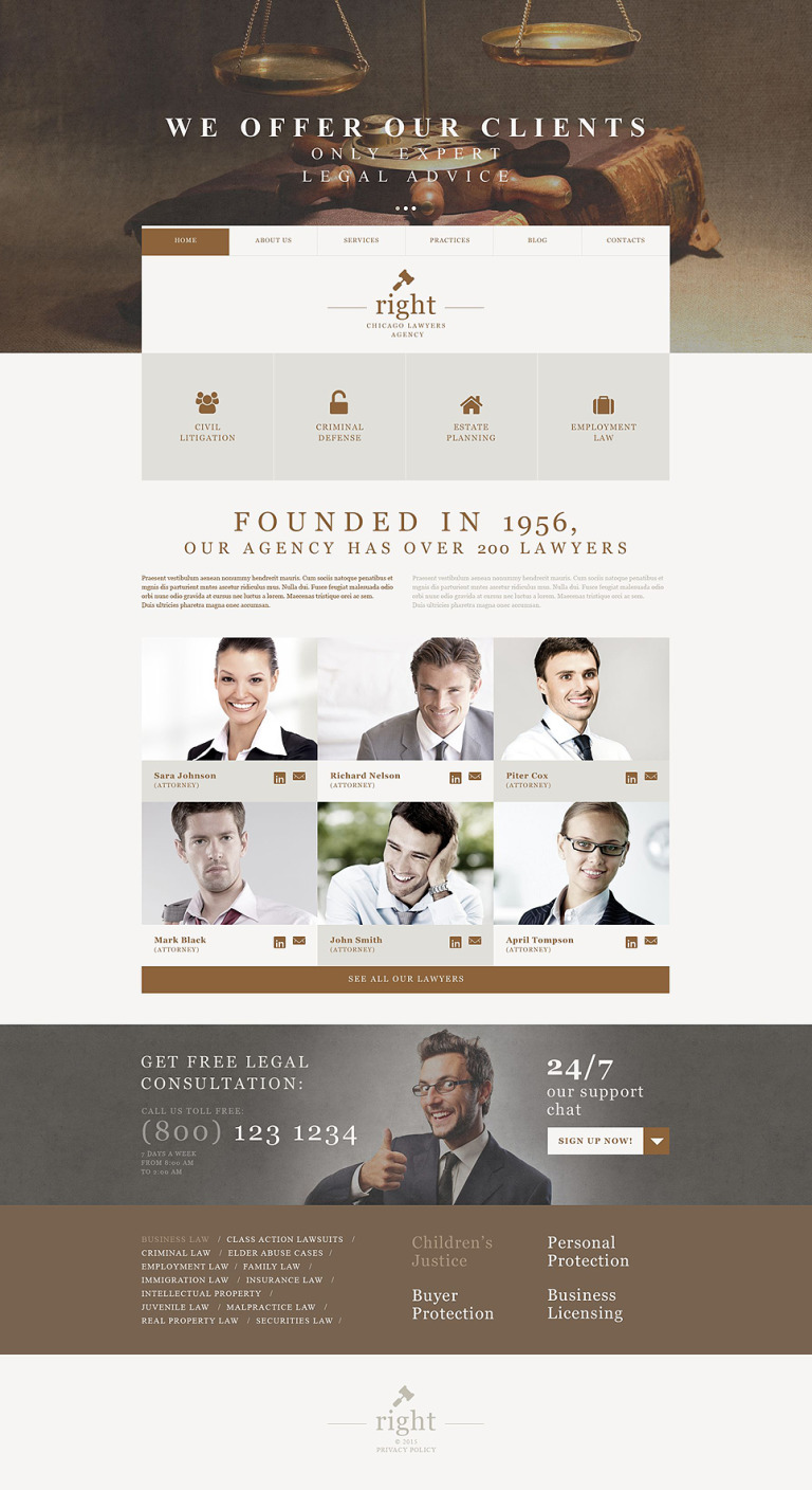 Law Firm Muse Template New Screenshots BIG