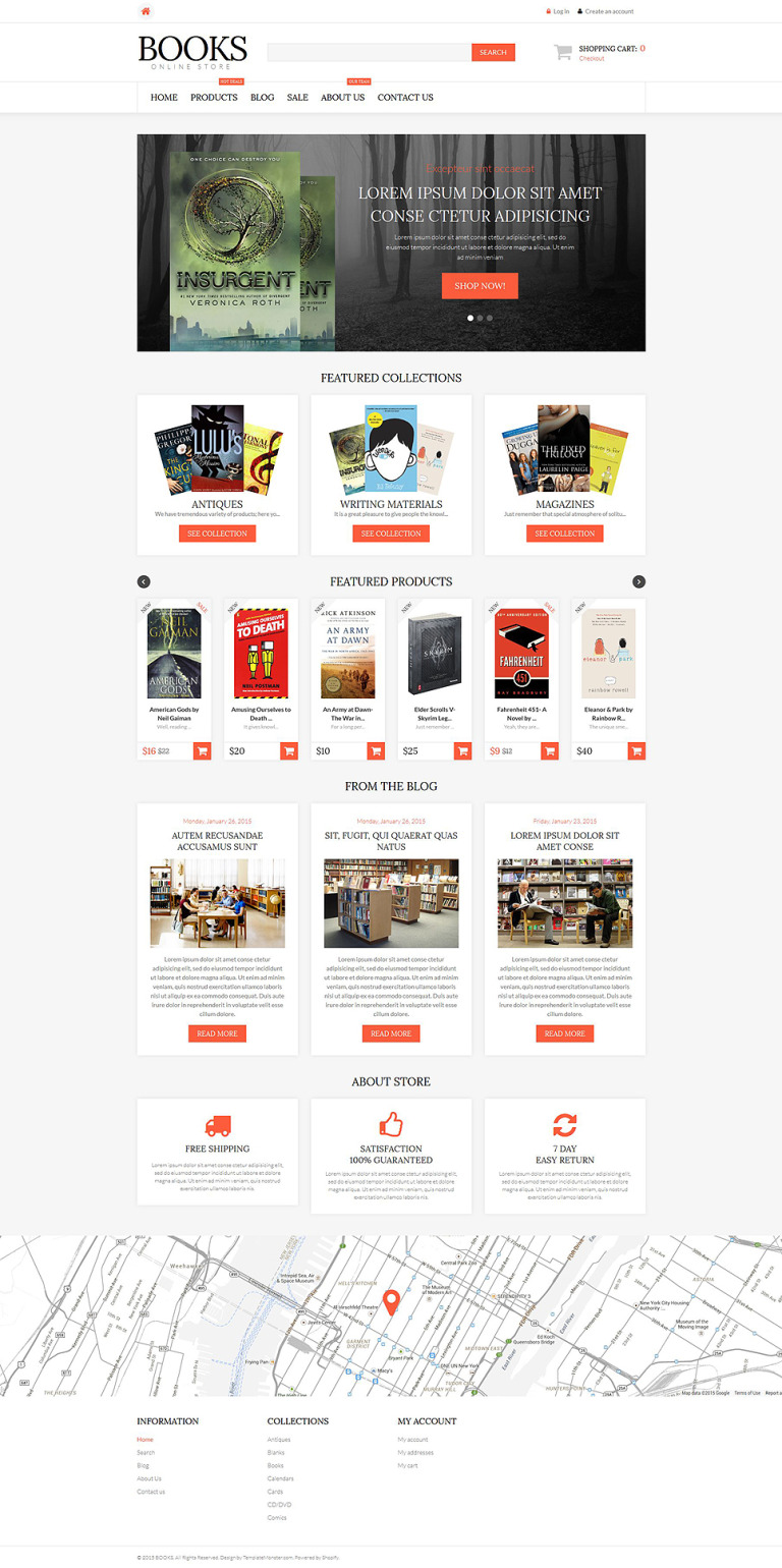 Literature Lovers Spot Shopify Theme New Screenshots BIG