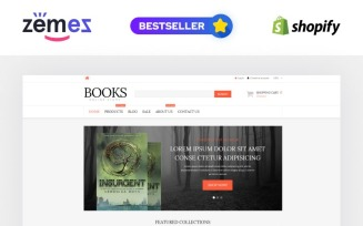 Literature Lovers Spot Shopify Theme