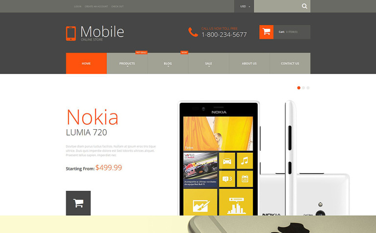 Mobile Phones Shopify Theme