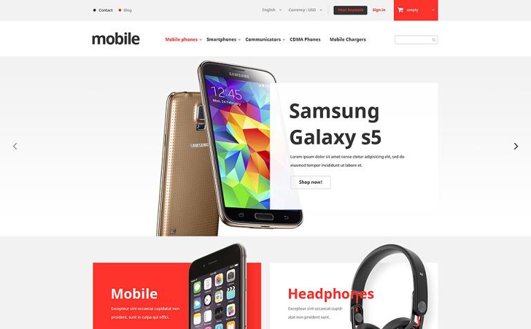 Mobile Phones Store PrestaShop Theme