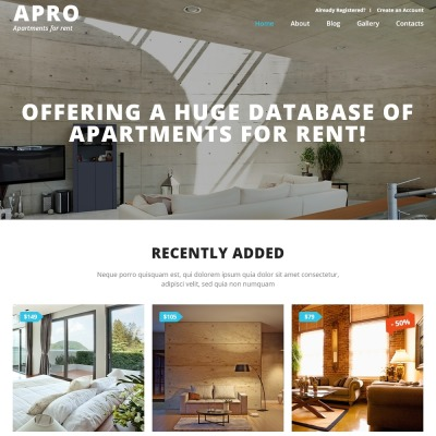 Real Estate Business Joomla Template #52911
