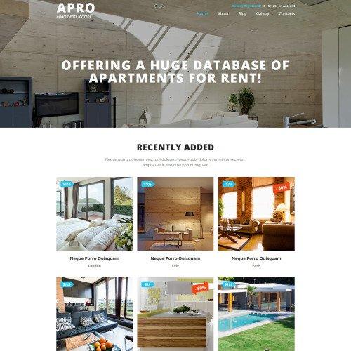Apro - Joomla! Template based on Bootstrap