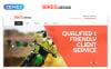 Responsive Website template over Fietsenwinkel  New Screenshots BIG