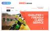 Responsive Website Vorlage für  Fahrrad Shop New Screenshots BIG
