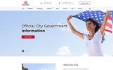 Responsive Website Vorlage für Politischer Kandidat
