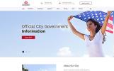 Responzivní Šablona webových stránek na téma Politický kandidát