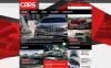 Reszponzív Autóklub témakörű  Joomla sablon New Screenshots BIG