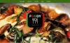 Reszponzív Európai étterem  Drupal sablon New Screenshots BIG