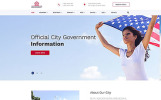 """Tema Siti Web Responsive #52938 """"Government - Official City Government Multipage HTML"""""""