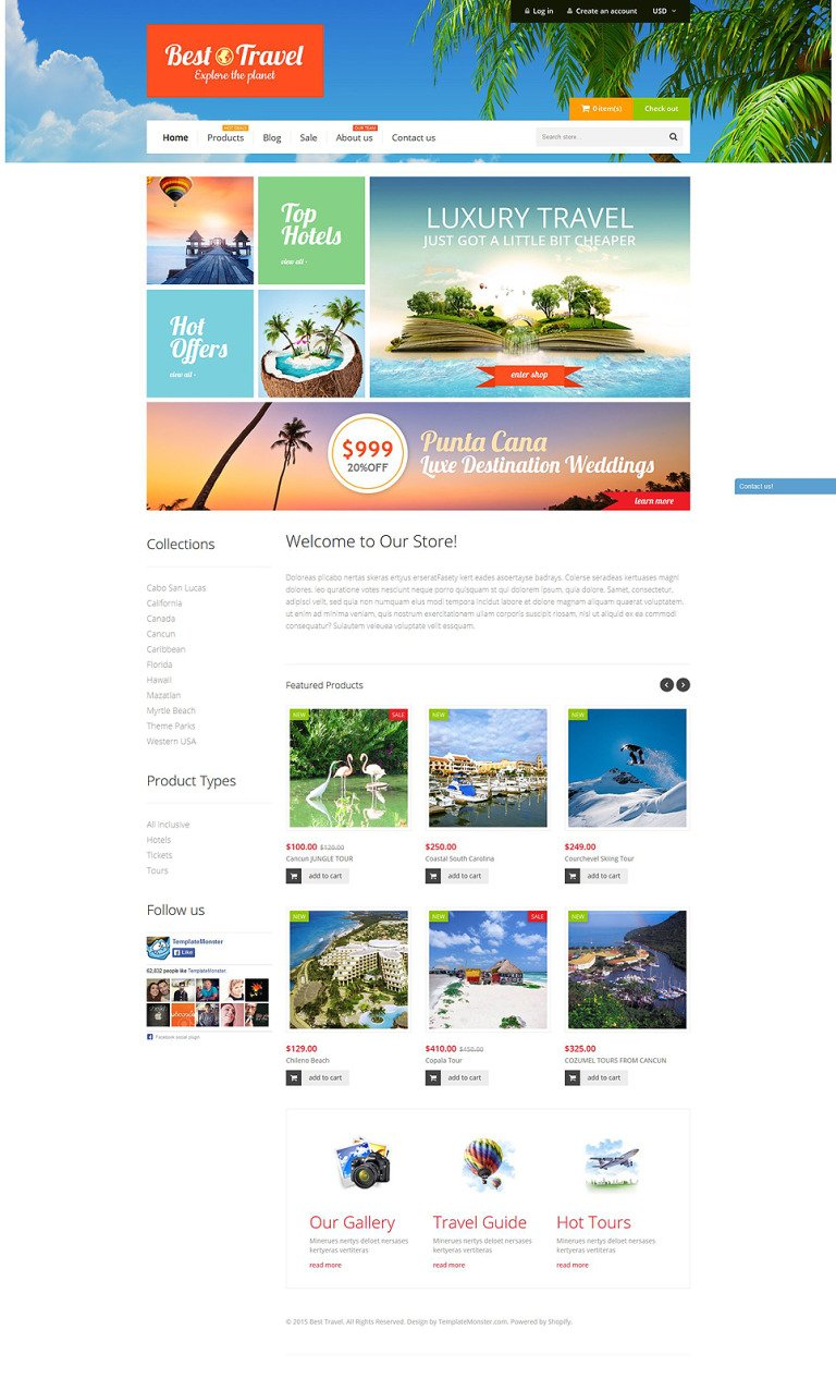 Travel Bureau Shopify Theme New Screenshots BIG