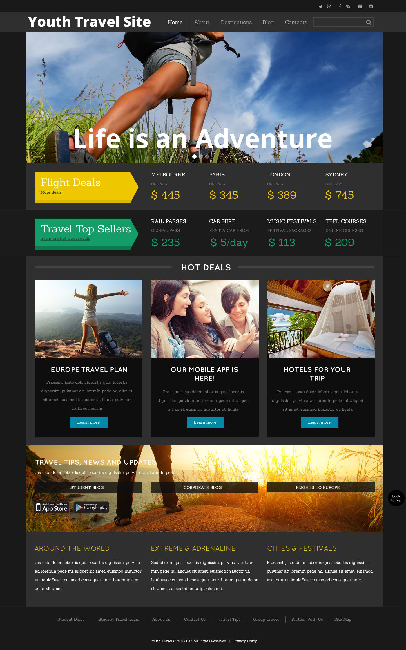 The Youth Travel Site Travel Agency Bootstrap Design 53003, one of the best website templates of its kind (travel, most popular), also known as Youth Travel site travel agency website template, compass website template, tour country website template, resort website template, spa website template, flight hotel website template, car website template, rental website template, cruise website template, sights website template, reservation website template, location website template, authorization website template, ticket website template, guide website template, beach website template, sea website template, relaxation website template, recreation website template, impression website template, air website template, liner website template, traveling website template, apartment website template, vacation website template, rest website template, comfort website template, destination website template, explor and related with Youth Travel site travel agency, compass, tour country, resort, spa, flight hotel, car, rental, cruise, sights, reservation, location, authorization, ticket, guide, beach, sea, relaxation, recreation, impression, air, liner, traveling, apartment, vacation, rest, comfort, destination, explor, etc.