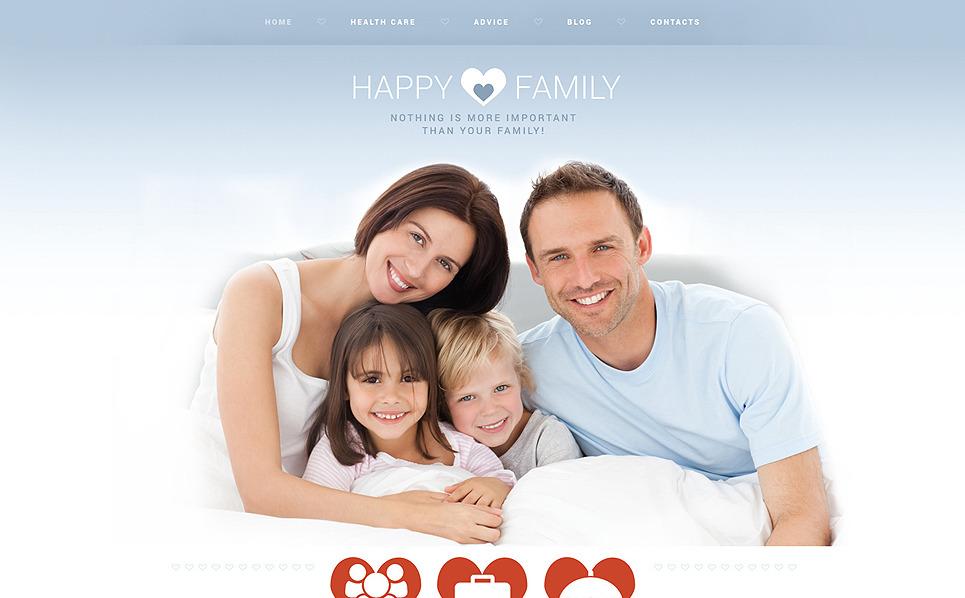 Responsywny szablon Joomla #53005 na temat: rodzina New Screenshots BIG