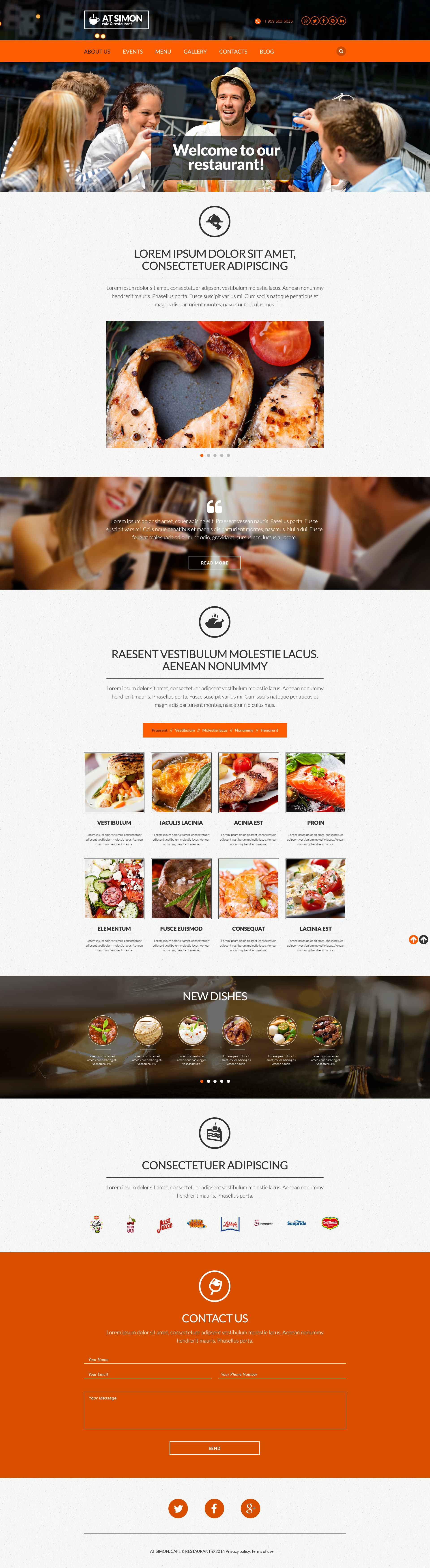 The AT Simin Review Restaurant Responsive Javascript Animated Design 53010, one of the best website templates of its kind (cafe and restaurant, most popular), also known as AT Simin review restaurant website template, food website template, critic website template, reviewer website template, tasty website template, delicious website template, dish website template, menu website template, dining and related with AT Simin review restaurant, food, critic, reviewer, tasty, delicious, dish, menu, dining, etc.
