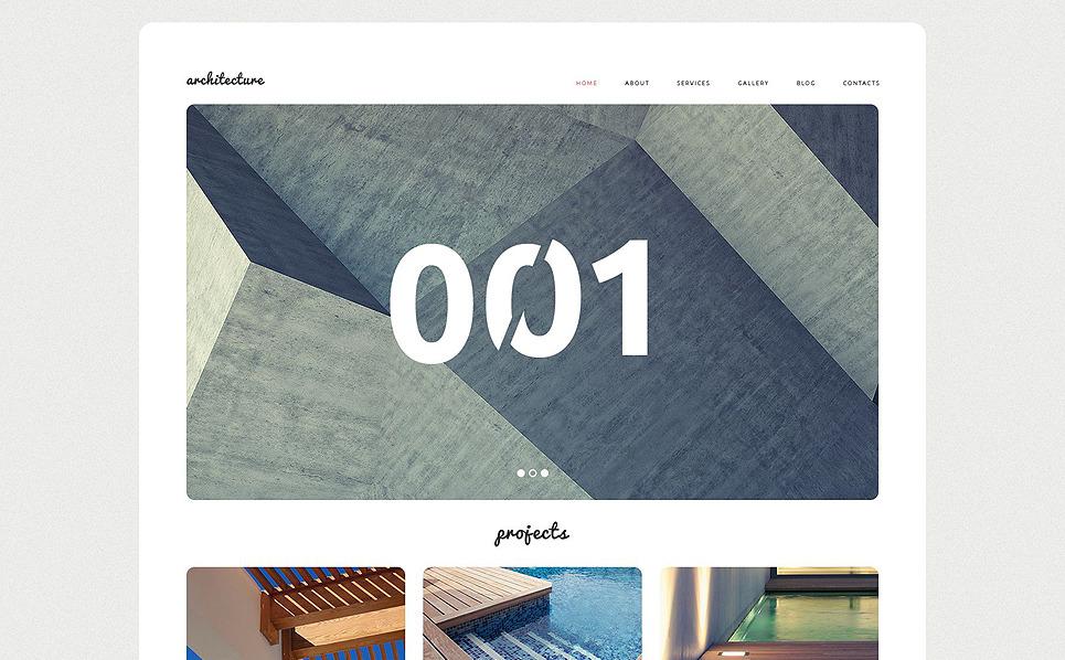 Responzivní WordPress motiv na téma Architektura New Screenshots BIG