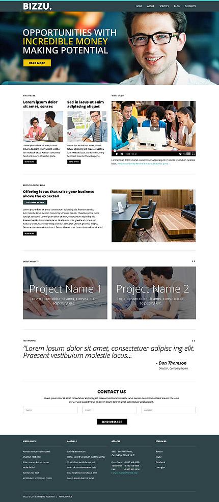 WordPress Theme/Template 53014 Main Page Screenshot