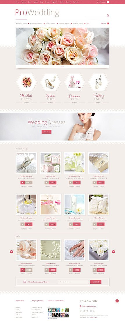ADOBE Photoshop Template 53023 Home Page Screenshot