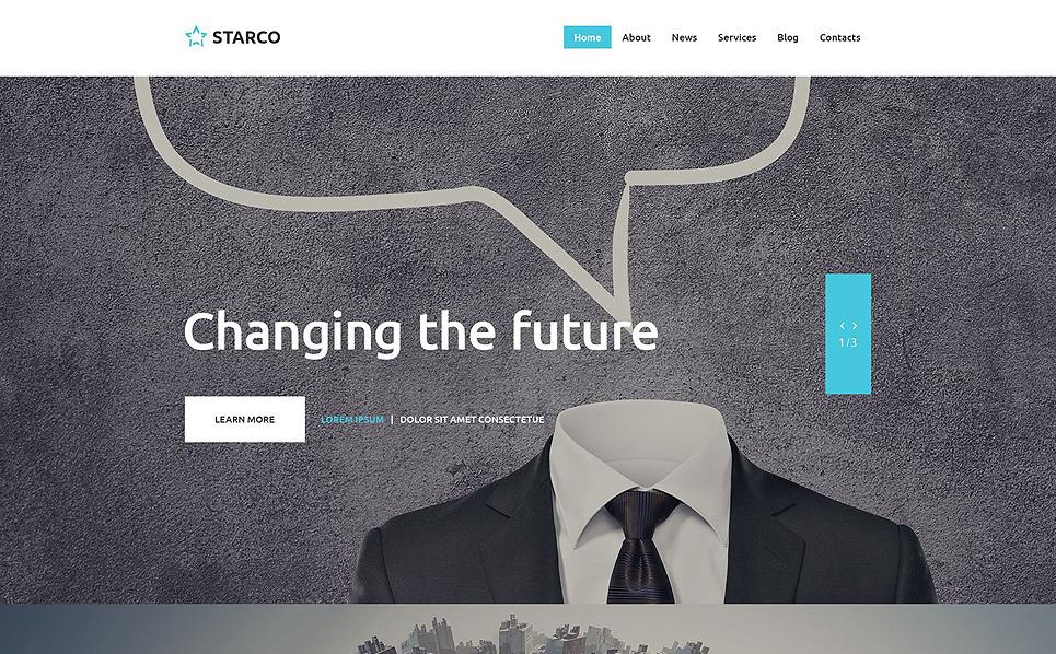 Responsive İş ve Hizmetler Web Sitesi Şablonu New Screenshots BIG