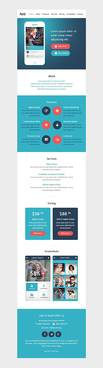 Website Template #53026
