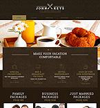 Hotels Website  Template 53027