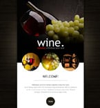 Food & Drink Newsletter  Template 53029