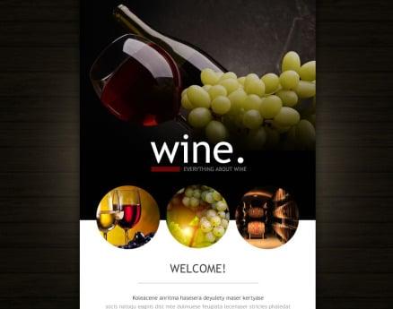 Food & Drink Newsletter Template