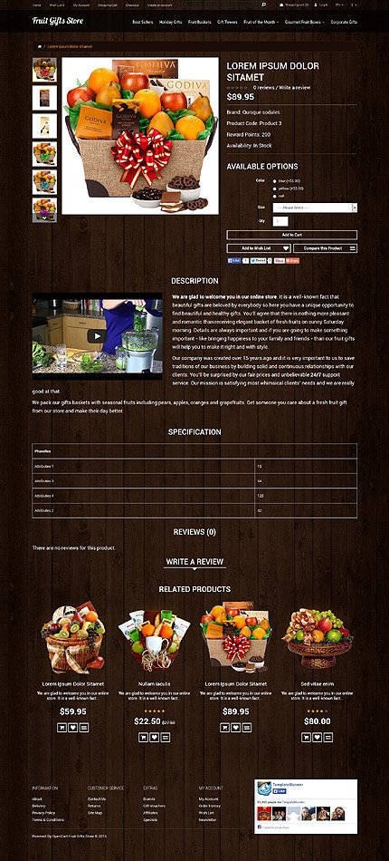 ADOBE Photoshop Template 53041 Home Page Screenshot