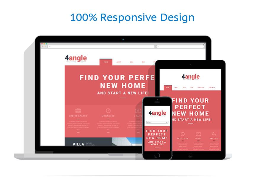 Modèles HTML5 Immobilier #53044